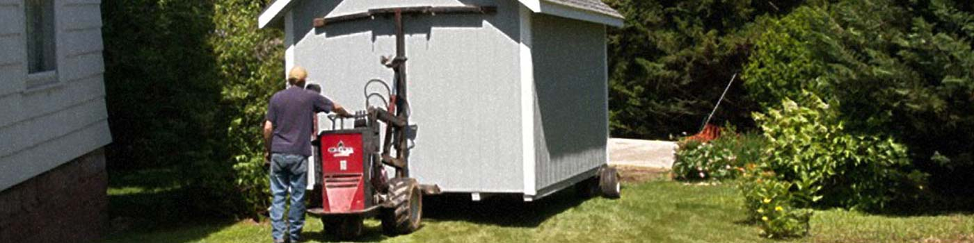shed delivery building