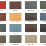 Standing Seam Roof Colors