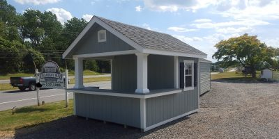 Cabana Pool House Shed