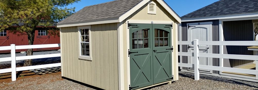 Laurel Shed carriage doors