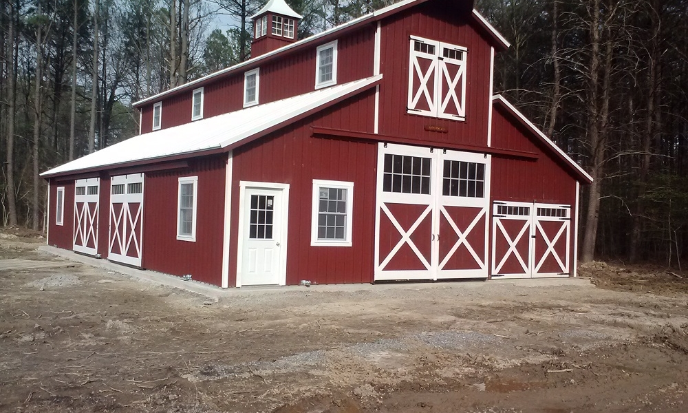 Horse Barns & Chicken Coops | Pleasant Run Structures