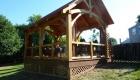 Timber Frame Pavilion - 18