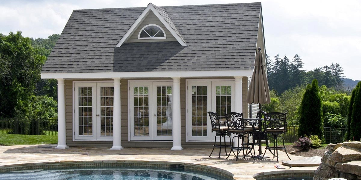 Pool Sheds and Pool Houses | Pleasant Run Structures