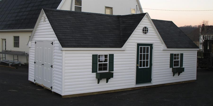 brighton shed w/chalet roof 23