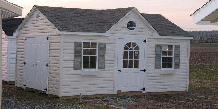 brighton shed w/chalet roof 4