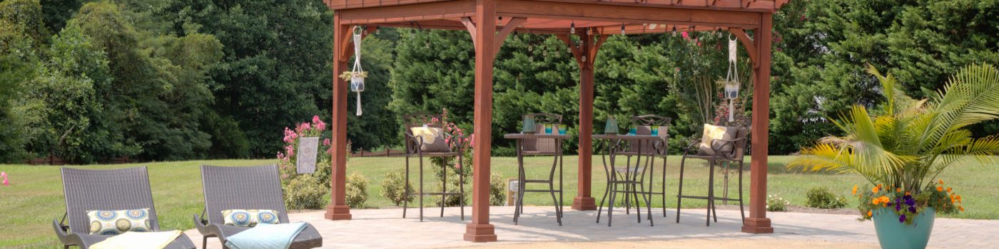 4 Traditional Wood Pergola 2 scaled