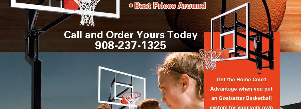 Pleasant Run Goalsetter basketball hoops