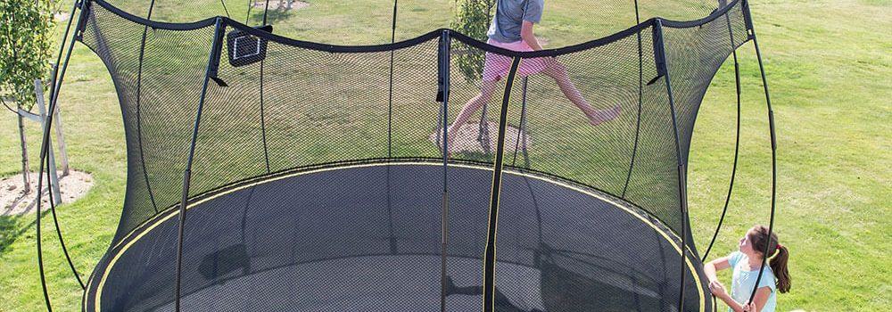 SpringFree Trampoline Safe Pleasant Run Structures Rainbow