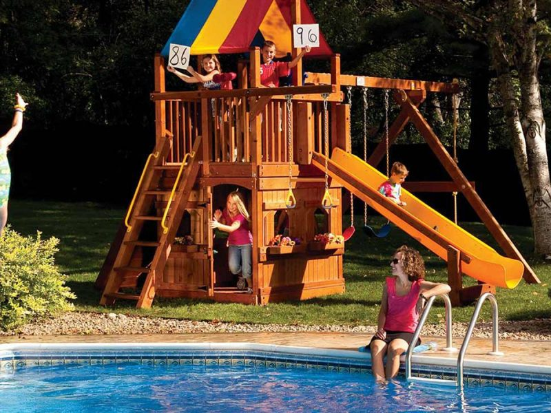 Backyard playsets in New Jersey
