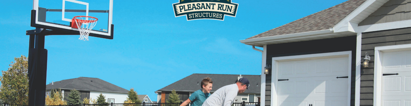 Pleasant Run Structures Rainbow backyard playset in New Jersey