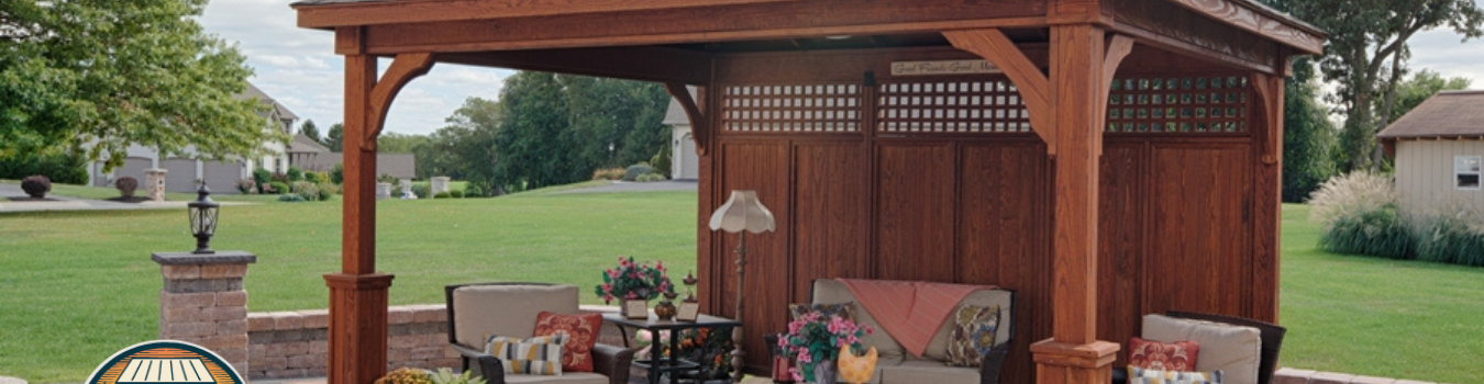Pleasant Run Structures Amish Pavilion