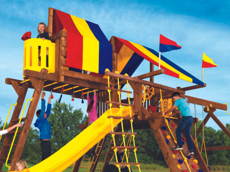 Pleasant Run Structures best play system in New Jersey